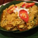 【Cambodian Soup Restaurant】カンボジア料理「アモック」をいただきました(Siem Reap/シェムリアップ)