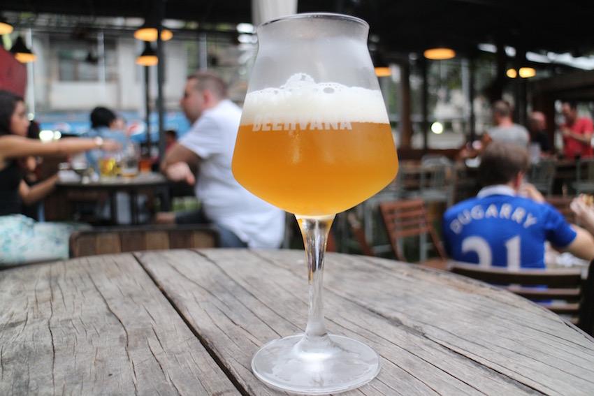 【CRAFT】クラフトビール専門ビアガーデン発見☆(Bangkok/バンコク)