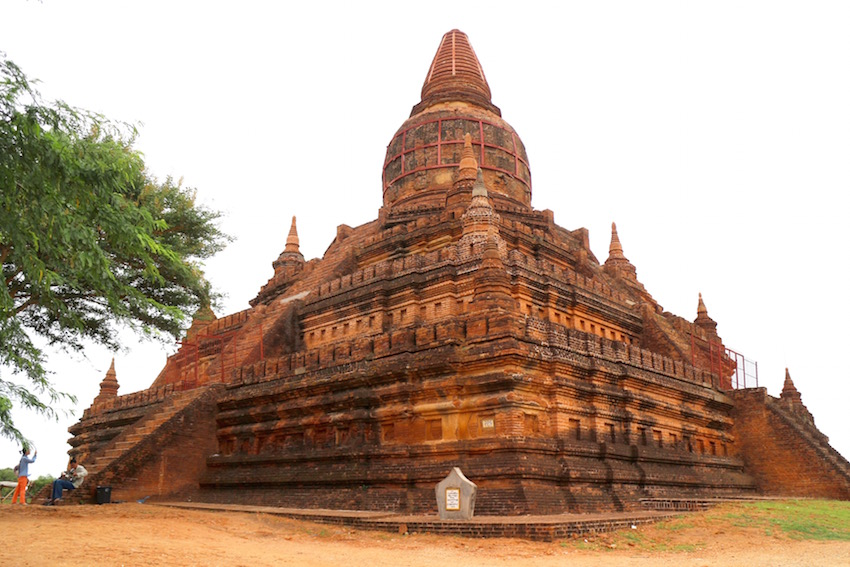 バガン遺跡「ミンガラゼディ・パゴダ」パガン王朝最後の仏塔