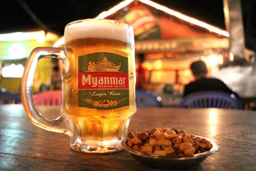「ミャンマービール/Myanmar Beer」(ミャンマー)