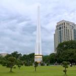 ヤンゴン「マハバンドゥーラ公園」緑豊かな憩いの場