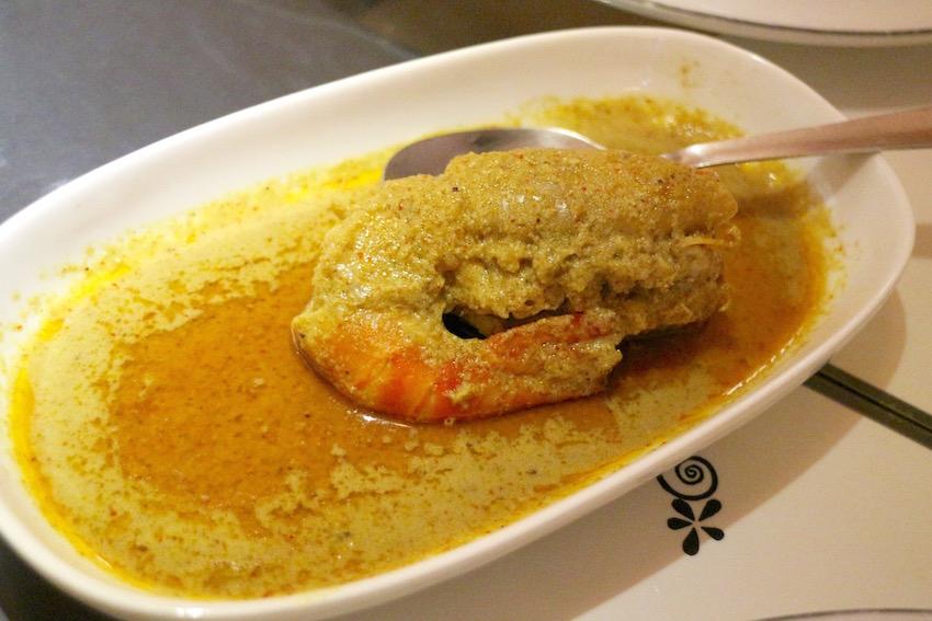 【The bhoj CAMPANY】ベンガル料理レストランのPrawn Curry(Kolkata/コルカタ)