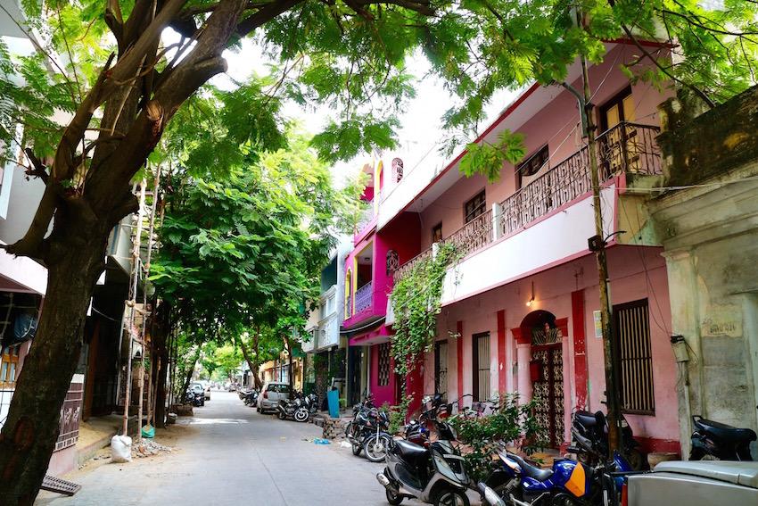 南インドでフランスに出会う!ポンディシェリの街歩き