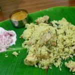 【SALEM BIRIYANI HOTEL】南インドスタイルのチキンビリヤニ(Pondicherry/ポンディシェリ)