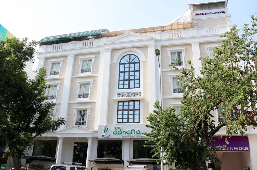 ホテル【Hotel South Avenue】(Pondicherry/ポンディシェリ)