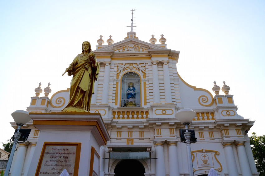 マザー・テレサが訪れた歴史ある教会「Immaculate Conception Cathedral」in Pondicherry