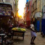 南インドの大都市チェンナイの夕暮れ散歩