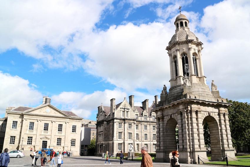 アイルランド最古の大学「ダブリン大学トリニティカレッジ」