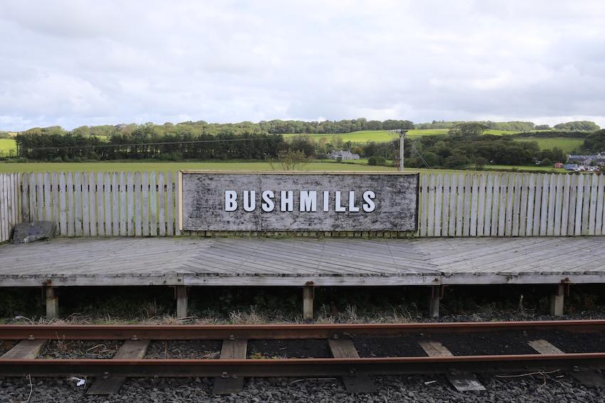 [ブッシュミルズ⇄ジャイアンツ・コーズウェー] Giant's Causeway and Bushmills Railway遊歩道からの風景