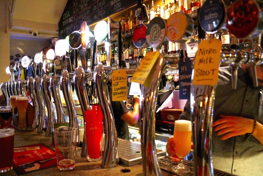 【Against the Grain】豊富なクラフトビールが楽しめるビアバー(Dublin/ダブリン)