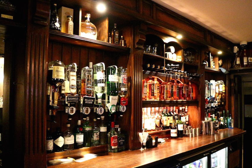 【Bushmills Inn Hotel & Restaurant】「Gas Bar」で愉しむローカルなウイスキー(Bushmills/ブッシュミルズ)