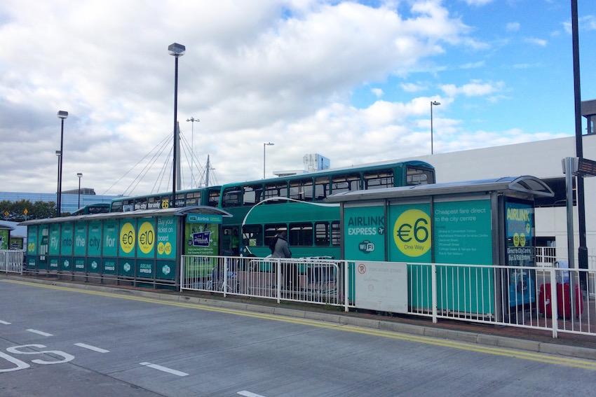 [ダブリン市街→ダブリン空港] リムジンバス「Airlink Express」で市街地から空港へ