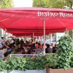 【Bistro Romain】凱旋門を望むシャンゼリゼ通り沿いのレストラン(Paris/パリ)