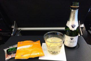[パリ→東京→フランクフルト] シャンパンで乾杯!JALのプレミアムエコノミーで飛ぼう