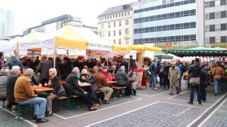 【Bauernmarkt/Schillermarkt】フランクフルト市街で開催される青空マーケット