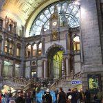 """[ブリュッセル⇄アントワープ] """"鉄道の大聖堂""""と称される美しい駅舎「アントワープ中央駅」"""